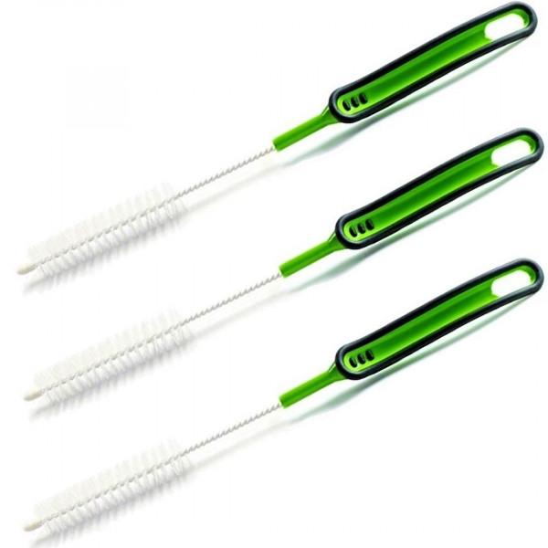 3er Vorteil-Set │Mixmesser-Reinigungsbürste │Thermomix TM6/TM5/TM31 │Anthrazit-Grün