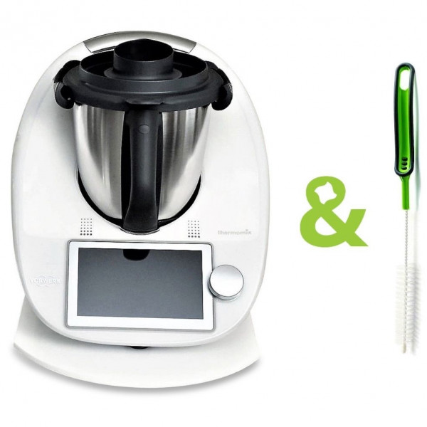 Multislider®│Weiß - White│für TM31/TM5/TM6 | PLUS Mixmesser Reinigungsbürste